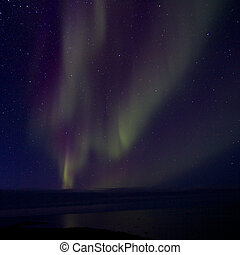Aurora Borealis over the Bay 013