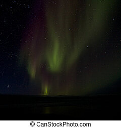Aurora Borealis over the Bay 014
