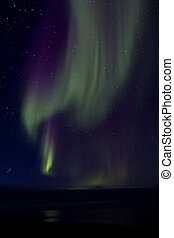 Aurora Borealis over the Bay 015