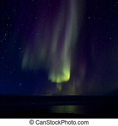 Aurora Borealis over the Bay 016