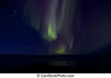 Aurora Borealis over the Bay 017