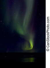 Aurora Borealis over the Bay 018