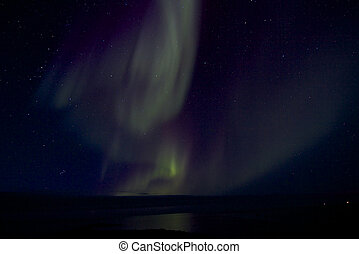 Aurora Borealis over the Bay 019