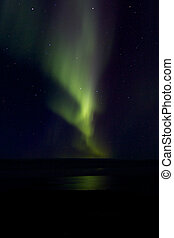 Aurora Borealis over the Bay 020