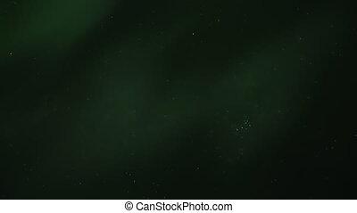 Aurora Borealis Stars Pleiades - Staring straight up into...
