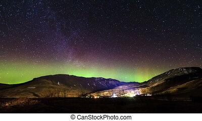 Aurora Borealis Timelapse