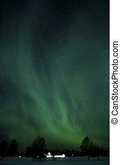 Aurora ploarlight