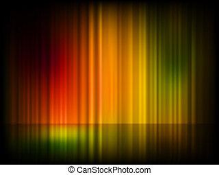 (aurora, settentrionale, eps, luci, borealis)., 8
