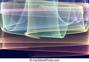 Aurora simulated