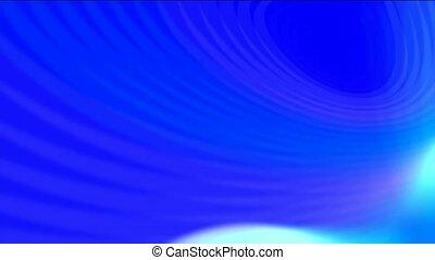 aurore, bleu, rayon, lumières, ciel, vague