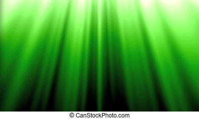 aurore, vert, boucle