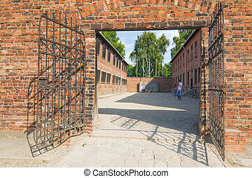 Auschitz Birkenau, fascist extermination camp ,Poland