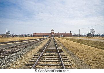 auschwitz, acampamento, birkenau, exterminação