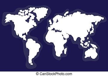 ausführlich, landkarte