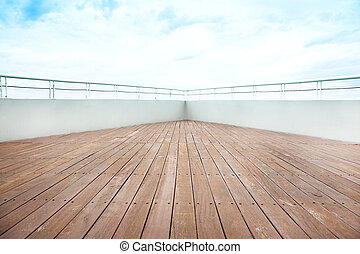 ausflugsdampfer, deck