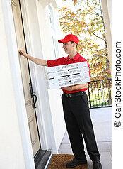 auslieferung, pizza- mann