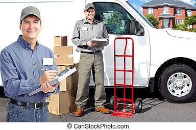 auslieferung, postman.