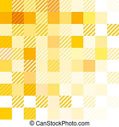 ausmachen, abstrakt, gelber
