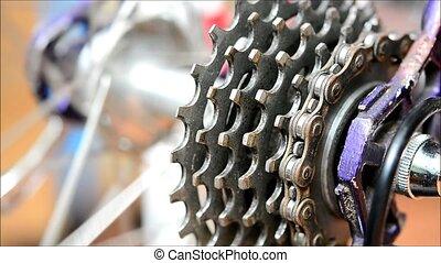 ausrüstung, bike.