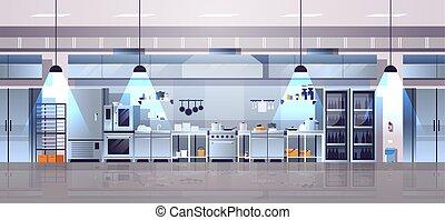 ausrüstung, gaststätte- innere, oder, professionell, café, ...