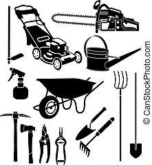 ausrüstung, kleingarten