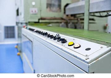 ausrüstung, konsole, mechanisch