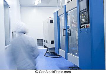 ausrüstung, medizinischer betrieb, personal