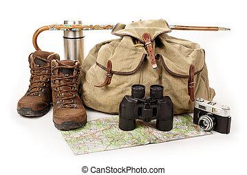 ausrüstung, wandern