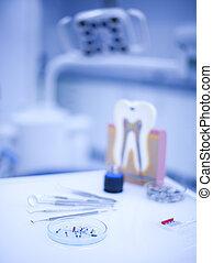 ausrüstung, zahnarzt