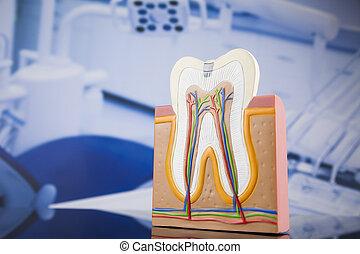 ausrüstung, zahnarztbesuch