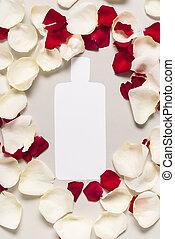 ausschneiden, flasche, von, lotion