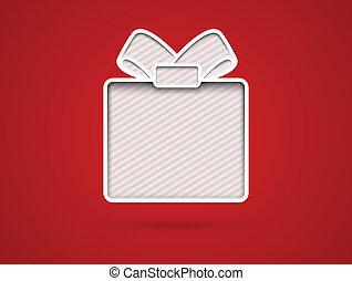 ausschneiden, geschenkschein