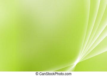 aussicht, grün, kurven, besänftigung