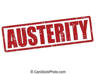 austeridad, estampilla