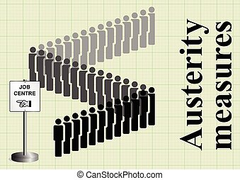 Austerity measures and job cuts - Government fiscal...