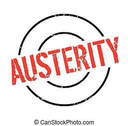 Austerity rubber stamp