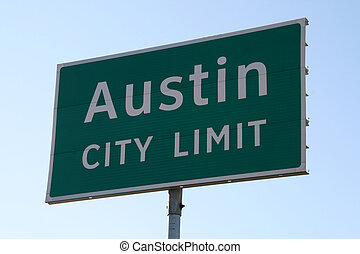 Austin City Limit Sign - A Austin City Limit sign that you ...