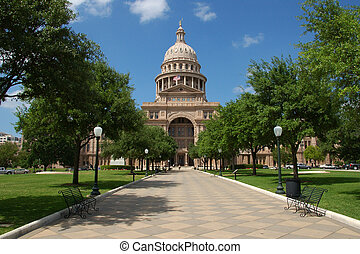 Austin, Texas state capitol - State capitol building in...