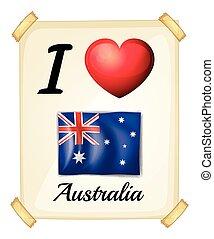 austrália, amor