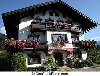 austríaco, casa