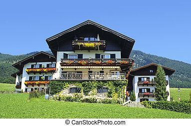 austríaco, casas