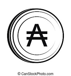 Austral icon, simple style