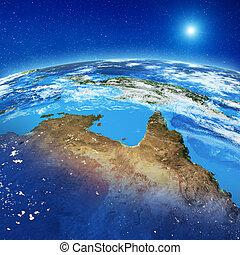 australië, noorden, ruimte