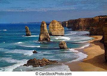 australië, twelfe, apostles