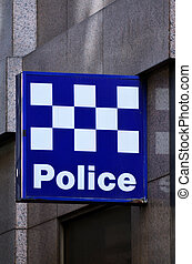 australiër, politie