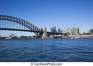 australia., シドニー 港
