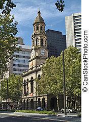 Australia, Adelaide - Australia, town hall from Adelaide