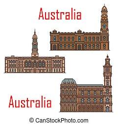 Australia architecture landmarks and buildings