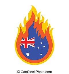 australia bushfire-10 - Australia bush fires vector ...