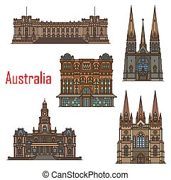 Australia cathedral buildings, Sydney architecture